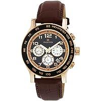Maxima Attivo Chronograph Black Dial Men -32971LMGR