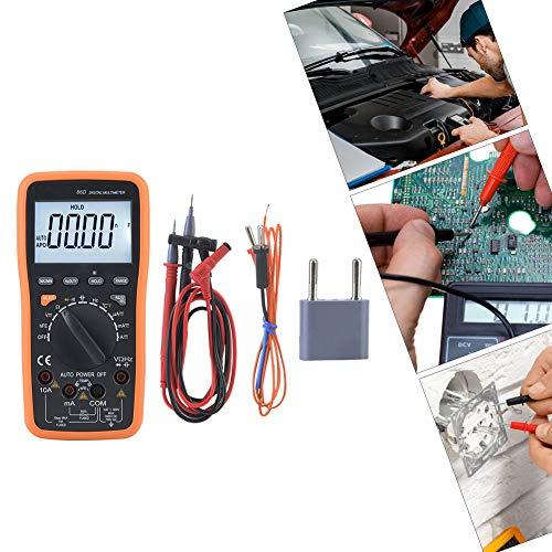 Digital Multimeter, Automatik Digitalmultimeter LCD YITENSEN VC86D Automatisches Entfernungsmessgerät mit Computerschnittstelle,Dual Integral A/D Wandler,viel Zubehör - Wandler Zubehör