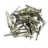 Sharplace 50er Set 6mm Haarklammer Haarspange Haarclip Krokodil-Clip Krokodil-Klammer Abteilklammern - 6x60mm