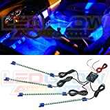 4pc. Blue LED Interior Underdash Lightin...