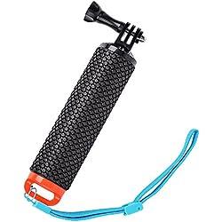 GoPro Flottant Hand Grip bâton Poignée en Mousse, étanche Flotteur Pôle Selfie Stick pour GoPro Go Pro Hero 543+ 321Session SJ4000Action Camera avec Sangle réglable par Ouway