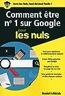 Comment être n°1 sur Google pour les Nuls poche - Le référencement naturel par Ichbiah