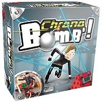 Chrono Bomb' est un jeu d'adresse, de créativité et d'agilité. Le but est de désamorcer une bombe sans toucher les lasers (fils) dans le temps imparti. Original et plébiscité à la fois par les enfants et les parents, le jeu se réinvente à chaque fois...