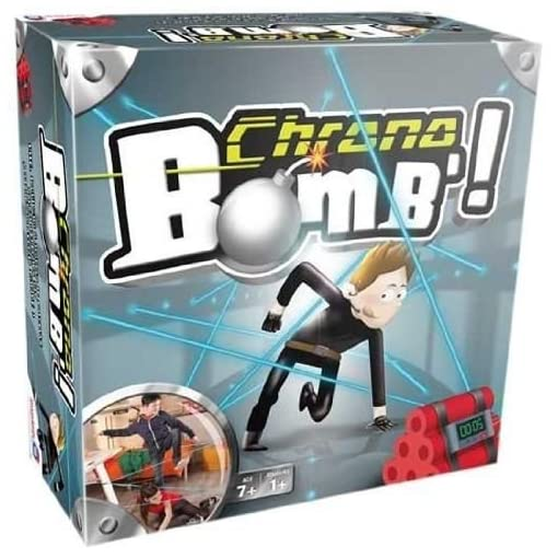 Dujardin-41299-Action-Spiel–Reflex-und-Chrono-Bomb