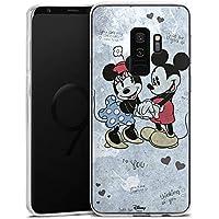 Samsung Galaxy S9 Plus Silikon Hülle Case Schutzhülle Disney Minnie & Mickey Mouse Merchandise Geschenke