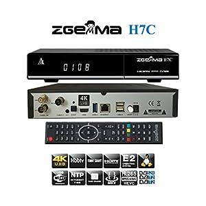 Zgemma H7C Decoder Combo UHD 4K con tuner 1xDVB-S2X - 1xDVB-T2/C - 1xDVB-C e IPTV