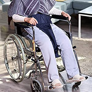 MEYLEE Rollstuhl-Seat-Gürtel, Polster Pelvic Slider Gürtel, Mobility Transfer System