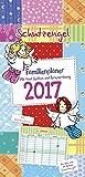 Schutzengel 2017 - Familienkalender, Familien-terminplaner, Kinderkalender , Spiralbindung  -  23 x 48 cm
