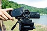 Sony HDR-PJ410 Full HD Camcorder with Built-In Projector (30x Optical Zoom, Optical SteadyShot, Wi-Fi and NFC)-Black