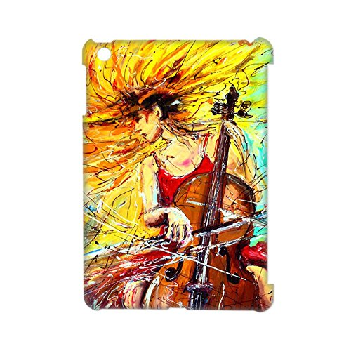 Generic For Apple Ipad Mini 3 Print With Cello 1 Shell Differently For Man Abs (Abs-cello-hülle)