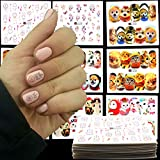 MEIYY Adesivo Per Unghie 41 Disegni Dream Cather Cat Butterfl Nail Art Bellezza Decalcomanie Per Trasferimento D'Acqua Nail Sticker Tatuaggi Gel   Fascette Per Unghie Fai Da Te