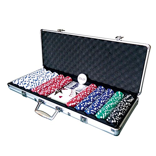 Lion-Games-Gifts-Europe-Aluminum-Case-with-500-x-115g-Chips-2-Decks-and-5-Dice