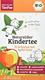 TeeFee Bio Früchtetee mit Apfel-Zimt, 5er Pack ( 5 x 20 Teebeutel à 2g), zuckerfrei und ohne Kalorien