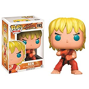 Funko Pop Ken – Ataque Especial (Street Fighter 193) Funko Pop Street Fighter