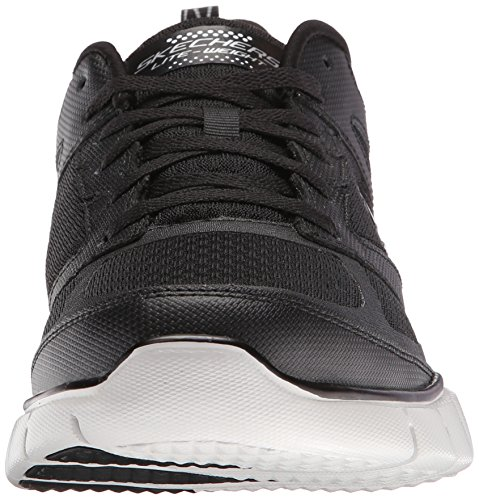 Skechers Skech-flex Power Alley, Chaussures Multisport Outdoor homme Noir - Black (Black Bkgy)
