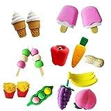 Holo Cute 4pcs Tier Obst Kuchen Netter Studenten Radiergummi Kinder