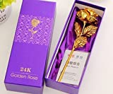 #3: SRS 24K Gold Rose with Gift Box and Carry Bag