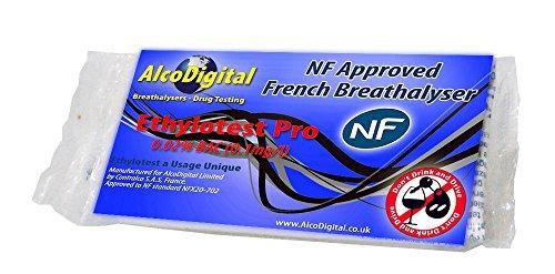Französischer, professioneller sowie NF-geprüfter Alkoholtest