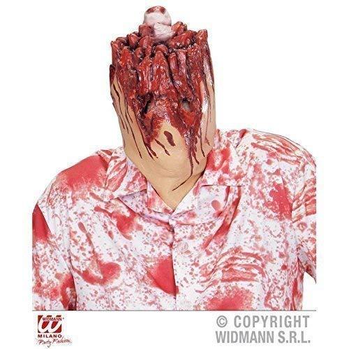 Lively Moments Maske / Latexmaske / Vollmaske abgeschnittener Kopf