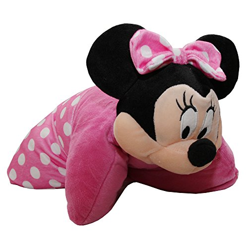 Disney Kinder 3D Kissen Minnie Mouse (38 x 38 cm) (Pink)