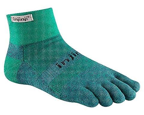 Injinji Traill Mid-Weight mini-crew xtralife Emerald L (44,5-47) Five toes socks