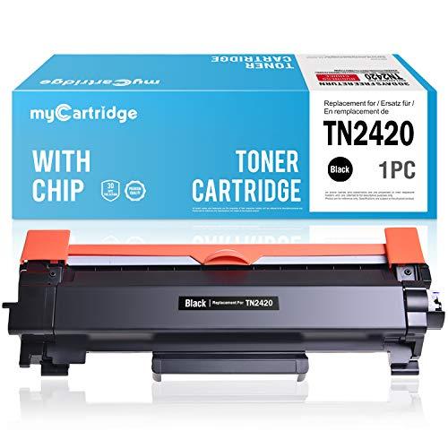 MyCartridge Compatibile Brother TN2420 TN-2420 cartuccia del toner per Brother MFC-L2710DW MFC-L2710DN MFC-L2750DW HL-L2350DW DCP-L2510D stampante (con chip)