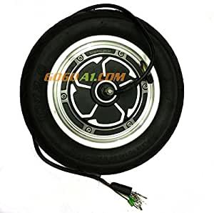 GoGoA1 10- Inches Hub Motor with Tire 250W -500W for Electric Scooter / Rickshaw