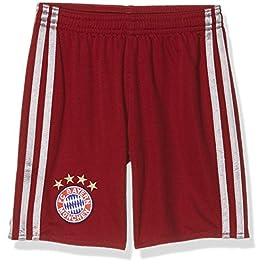 adidas FC Bayern UCL Short Youth, Pantaloncini Unisex Bambini