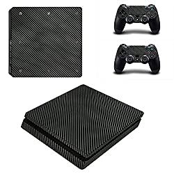 PS4 Pro Console + Controller Skin - Carbon Black