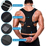 Buyerzone Real Doctor Posture Back Support Brace Belt for Men and Women