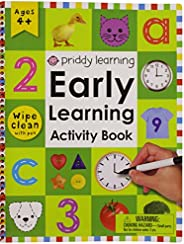 Wipe Clean: Early Learning Activity Book (Wipe Clean Activity Books)
