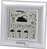 WetterDirekt Wetterstation WD 9000 mit Innen- / Außentemperautanzeige, Wettervorhersage für 5 Tage und...