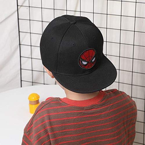 Ritter Kostüm 2 Jahre Alt (Hip-Hop-Hut für Kinder für männliche Jungen Baseballmütze Baby Entenzunge Sonnenschutzkappe Abbildung 3 2-9 Jahre)