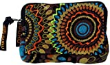 Guru-Shop Portemonnaie `Ethno` in Verschiedenen Farben, Herren/Damen, Braun, Baumwolle, 8x12 cm, Börsen aus Stoff, Hanf & Brokat