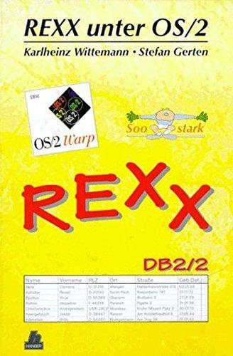 REXX unter OS/2, m. Diskette (3 1/2 Zoll) par Karlheinz Wittemann