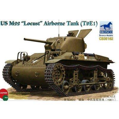 Unbekannt Bronco Models CB35162 - Modellbausatz US M22 Locust Airborne Tank, T9E1 (Us-militär-tank)