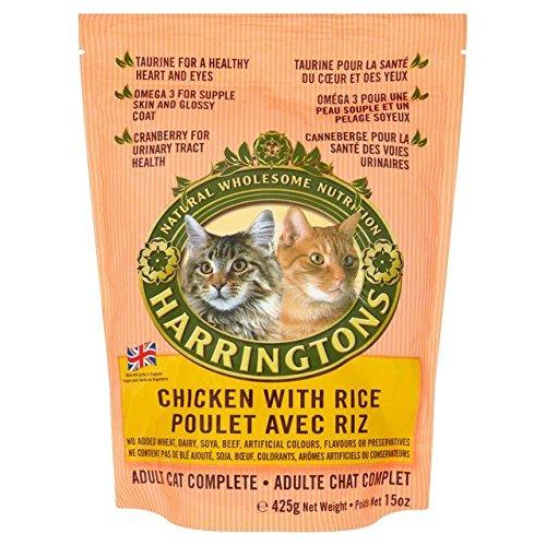 Harringtons gato completa pollo y arroz 425g
