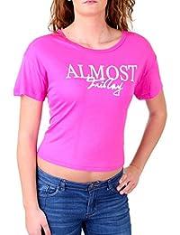 Madonna T-Shirt Damen DAMARIS Wide Neck Short Cut Shirt MF-406932