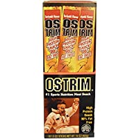 ‏‪Ostrim Beef & Ostrich Snack Teriyaki 10-1.5 oz sticks [15 oz (420 g)]‬‏