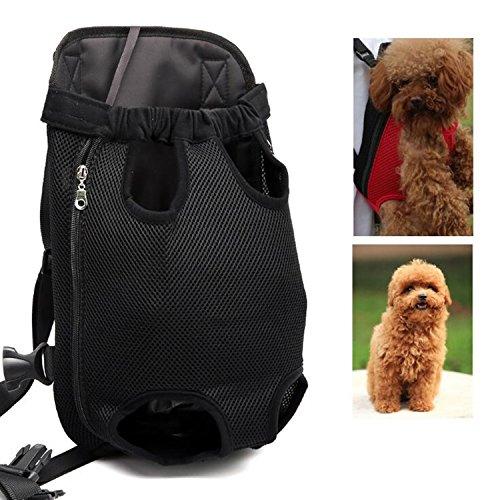 zmal Pet Travel Rucksack, verstellbar Pet vorne Rucksack Träger Schulter prothorax Staubbeutel für kleine Hunde und Katzen Outdoor Travel tragbare Paket (20 Lb-tasche Katzen)