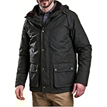 Barbour Abrigo Modelo Woodfold. Color Verde