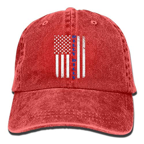 Confederate Flag T-shirt (HOP caps Dilly Dilly American Flag Adult Denim Fabric Hat for Men Woman Unisex,Males Females Hiphop Cap Red)