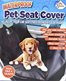 Protector universal para asiento trasero de coche, resistente al agua. Funda de asiento para perro/mascota