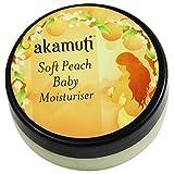 Akamuti - Crema Idratante Lenitiva Biologica per Neonati e Bambini all'Olio di Pesco 50 ml