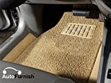 #8: Autofurnish Anti Skid Curly Car Foot Mats (Beige) Universal