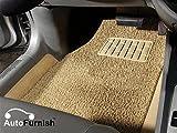 #6: Autofurnish Anti Skid Curly Car Foot Mats (Beige) Universal