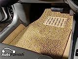 #2: Autofurnish AFFM500270 Universal Car Foot Mat (Set of 3, Beige)