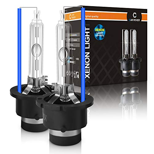 D2S Bombilla Hid Xenon Luces 8000K, 12V 35W, Pack of 2