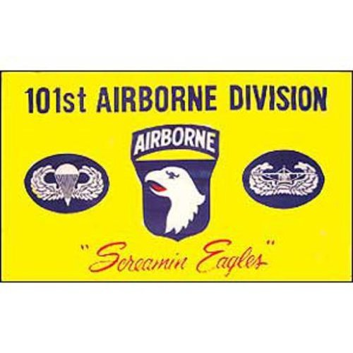 US Army 101st Airborne Screaming Eagles Bandiera 3ft x 5ft