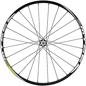 Shimano Mt66 CL Disc Wheels - Black, Front